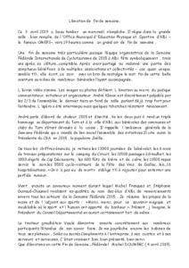 N° 2019_03_FIN DE LA SEMAINE FEDERALE