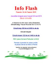 Info Flash 2019-16