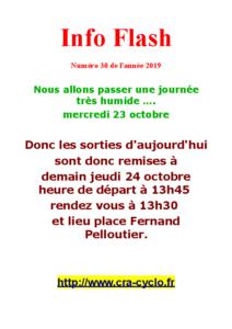 Info Flash 2019-30