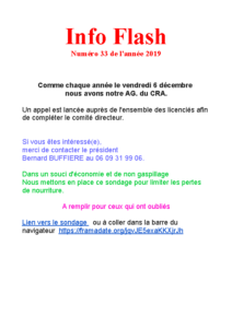 Info Flash 2019-33
