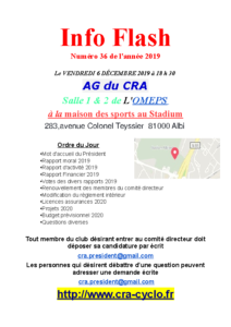 Info Flash 2019-36