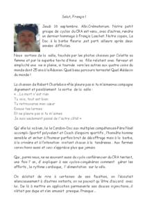 N°2021_06 Salut Francis